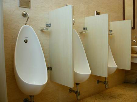 Debo Urinal Partition Series Urinal Partitions
